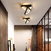 LED de techo lámpara de suspensión luminaria Led luces para habitación pasillo balcón pasillo LED interiores modernos de la lámpara de techo de la lámpara