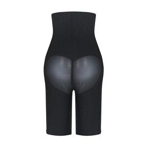 Image 5 - Burvogue Women Latex High Waist Shapewear Body Shaper Slimming Shaper Pants Tummy Control Panties Underwear Plus Size 3XL