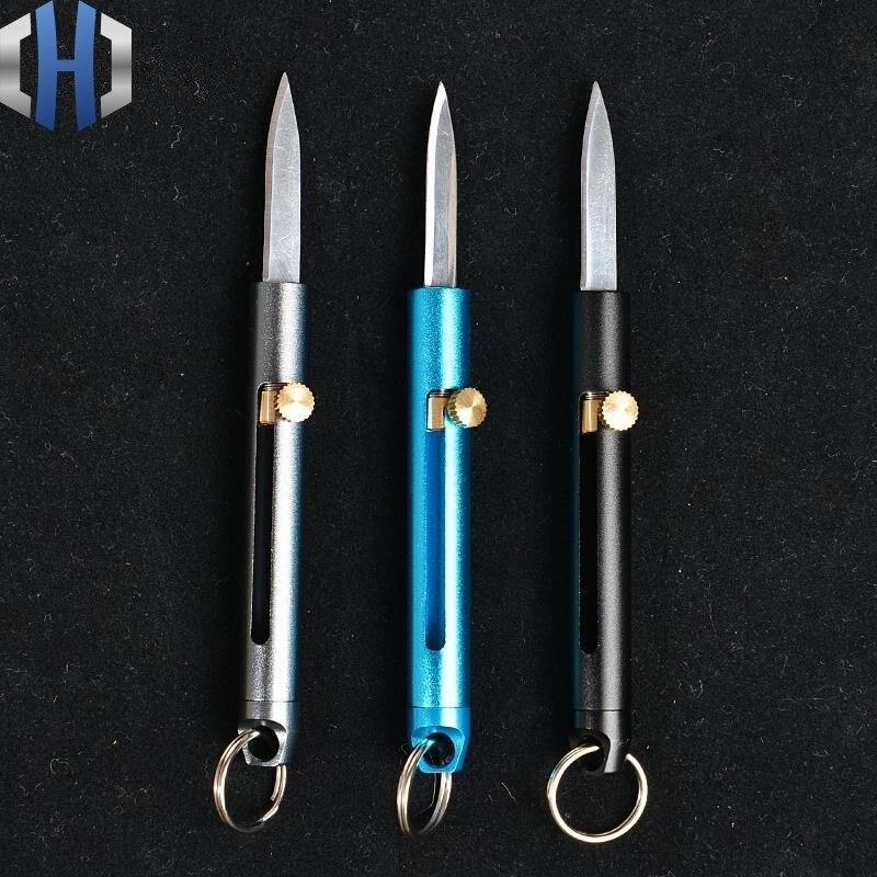 Алюминий сплав мини-точилка для ножа маленькая мультифункциональная карманный нож для охоты Портативный снос, для повседневного использов...
