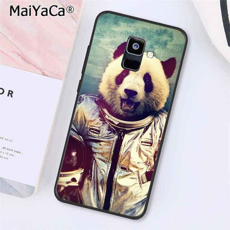 MaiYaCa الباندا Dab على EM الهاتف حقيبة لهاتف سامسونج غالاكسي A7 A8 A6 زائد A9 2018 A50 A70 A20 A30 A40