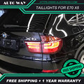 Car Styling Tail Lamp for BMW E70 X5 Taillights 2007-2013 for X5 E70 taillight Rear Light DRL+Turn Signal+Brake+Reverse