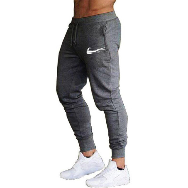 Brand 2021 Summer Men's Jogging Pants Fashion Training Casual Sports Pants Men's Running Pants Gym Muscle Fitness Stretch Pants 2