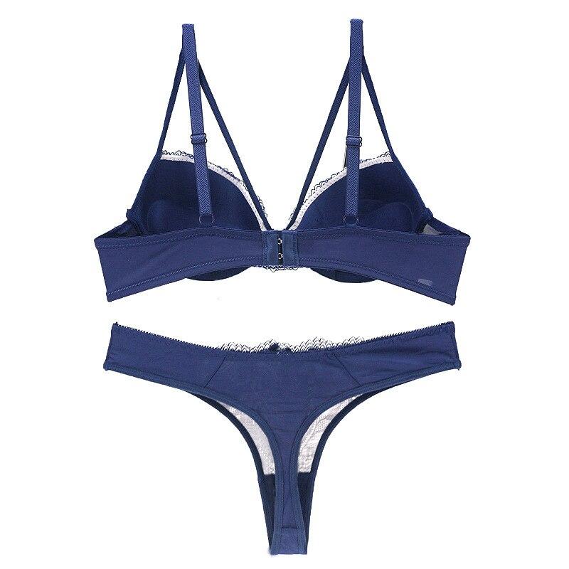 ensemble lingerie soutien gorge string 85B sous vêtement femme