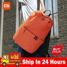 Original Xiaomi Mi Backpack 10L Bag 10 Colors 165g Urban Leisure Sports Chest Pack Bags Men Women Small Size Lovers Couple bag