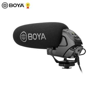 Image 1 - BOYA BY BM3031 מיקרופון Supercardioid הקבל ראיון קיבולי מיקרופון מצלמה וידאו מיקרופון עבור Canon Nikon Sony DSLR למצלמות