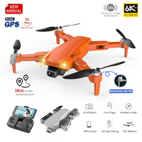 Mantener pro S608 Pro GPS Drone 4k Profesional 6K Cámara Dual de HD fotografía aérea sin escobillas plegable RC Quadcopter helicóptero Quadcopter RC helicóptero distancia de 3KM