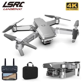 LSRC nowy E68pro Mini Drone szeroki kąt 4K 1080P WiFi FPV kamera drony wysokość tryb gospodarstwa RC składany Quadrotor Dron zabawka prezent tanie i dobre opinie LANSENXI CN (pochodzenie) Z tworzywa sztucznego About 100 meters (no interference and no obstruction) 24 * 20 * 5 cm Mode2
