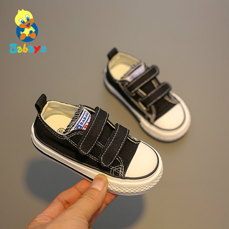 Baby Shoes Sneakers Soft-Soled Infant Toddler Girls Autumn Boys New Children Canvas Comfortable
