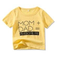 Kimocat Summer Baby Boys Clothes Kids Cotton T-Shirts Childrens Clothing
