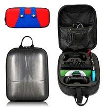 Sac à dos de rangement à coque rigide sac à bandoulière pour Console Nintendo Switch étui de transport Nitendos pour accessoires Nintendo Switch