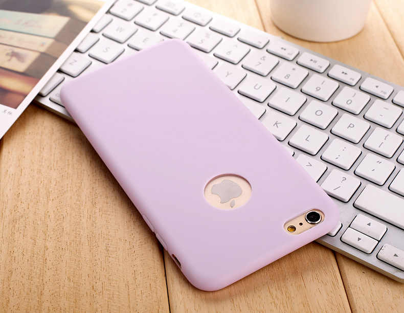 for iPhone 5S 5 5SE iPhone 6S 6 s iPhone 8 7 X XS MAX XR R 10 6Plus 6SPlus 8Plus Silicon Case Gel Cell Phone Cover Casing Coque