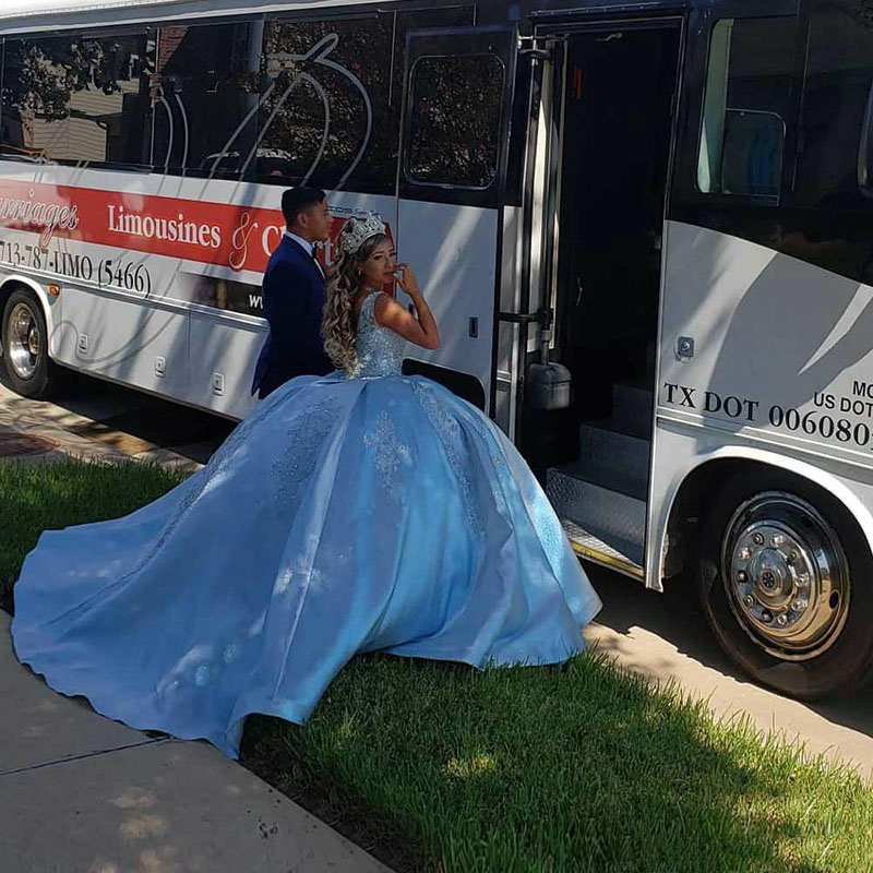 elegant sleeveless quinceanera dresses sweet 16 dresses blue ball gown girl pageant dresses beaded lace adult prom party gown