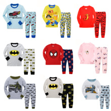 Floret LULU Kid's Pajamas sets boys Spiderman Cotton Car Sty