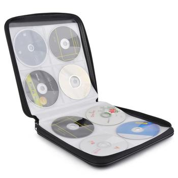 CD Carrying Case 160 Capacity Heavy Duty Discs Storage Case CD Organizer DVD Carrying Bag Holder Album Box Case Carry Pouch new 40 disc cd dvd storage holder carry case organizer sleeve wallet cover bag box dvd storage cd box cases 15