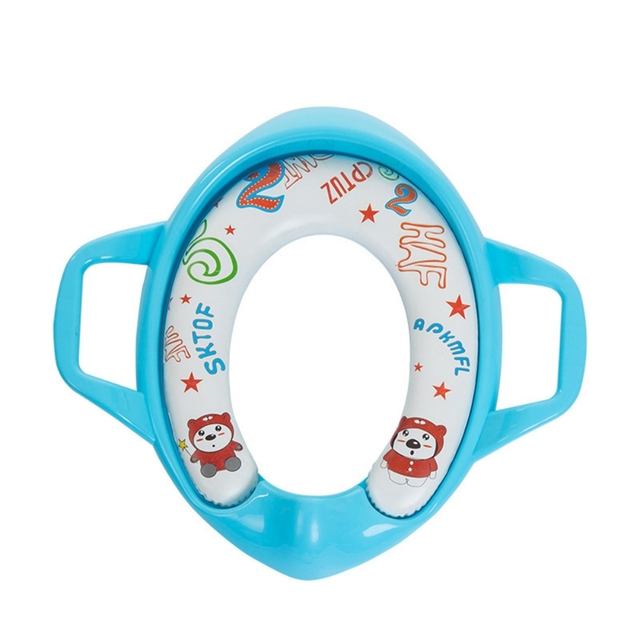 Muti-color Cute Cartoon Baby Safe Travel Potty Children Urinal Trainer Kids Training Toilet Seat Covers 0-6Y 1