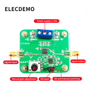 Image 2 - VCA810 Mô Đun Điều Khiển Điện Áp Khuếch Đại Có Thể Điều Chỉnh Độ Lợi 40dB Đến + 40dB Điện Tử Đua Mô Đun Chính Hãng