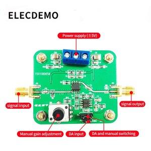 Image 2 - VCA810 Modul Spannung Control Gain Verstärker Einstellbare Verstärkung 40dB zu + 40dB Elektronische Rennen Modul Echte