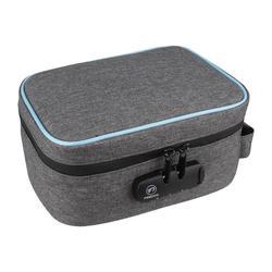 Étui anti-odeur FIREDOG avec serrure à combinaison sac de rangement conteneur doublé de carbone pour étui à cigarettes de stockage de voyage