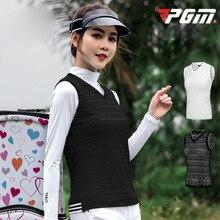 PGM летняя новая женская кружевная жилетка для гольфа женский кружевной жилет спортивная верхняя одежда без рукавов черный зеленый легкий дышащий жилет
