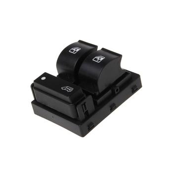 3 przyciski przełącznik główny okien konsola bokser do przekaźnika Fiat Ducato Doblo Peugeot Citroen tanie i dobre opinie CN (pochodzenie) 6 4cm Plastic 8 Pins 1 Pc