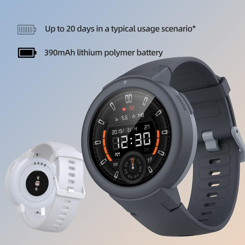In stock Global Amazfit Verge Lite Smartwatch IP68 Smart Watch GPS GLONASS Long Battery Life AMOLED Display for Android iOS 3