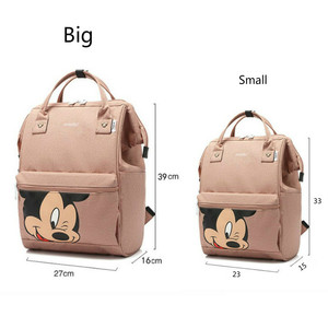 Image 3 - Mummy Backpack Maternity Nappy Bag Bag For Mon Mini Mouse Diaper Bag Travel Backpack Nursing Bag or Baby Care Mickey Mommy Bags
