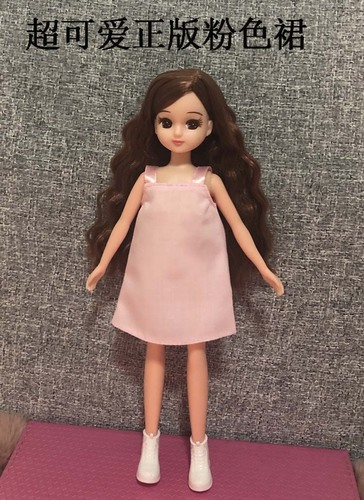 1/6 clothes For Dolls For Licca doll Momoko Doll Blyth doll clothes Jumpsuit dress suit For Girls Dolls 2