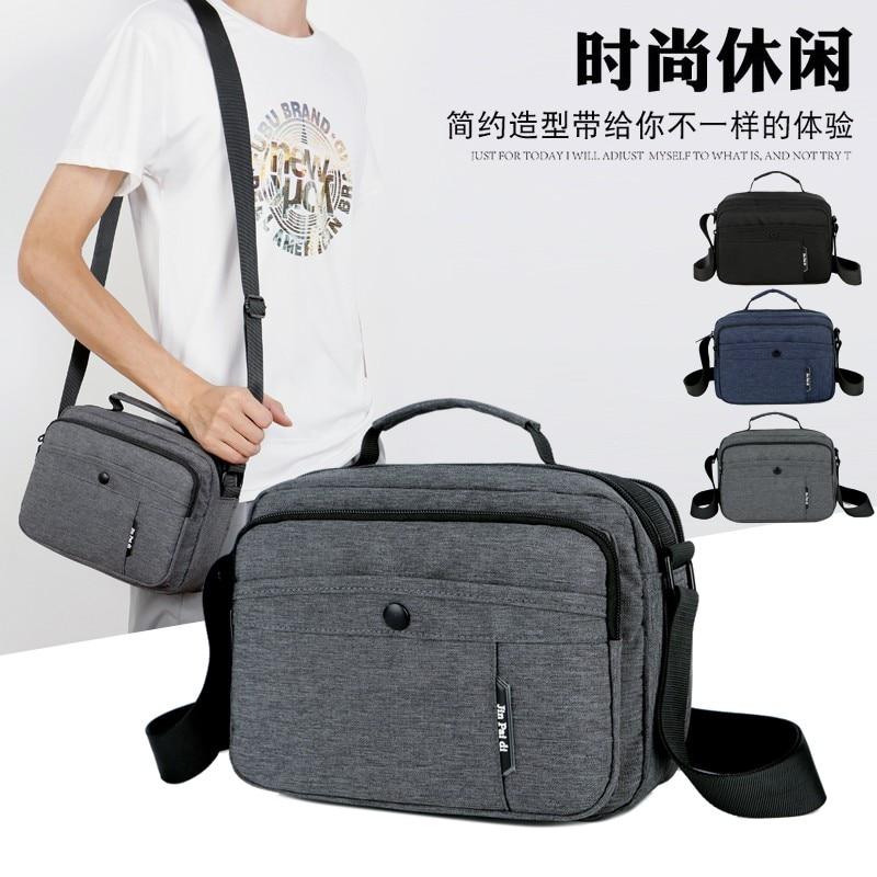 Litthing New Fashion Man Oxford Messenger Bag Men Tote Bags Male CrossBody Bag Boy Shoulder Business Bags For Men 2019