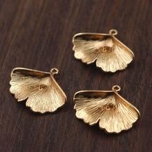 26.66x23.17x0.94mm Brass Snail Earring Charms Brass Snail Earring Pendant RGP1083 18K Real Gold Plated Brass Jewelry Supplies