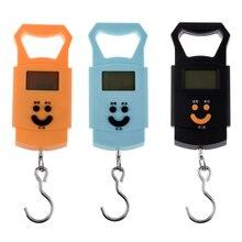 Карманные 50 кг/10 г рыболовные Весы светодиодные электронные ручные подвесные дорожные багажные весы рыболовные Охотничьи аксессуары для дома
