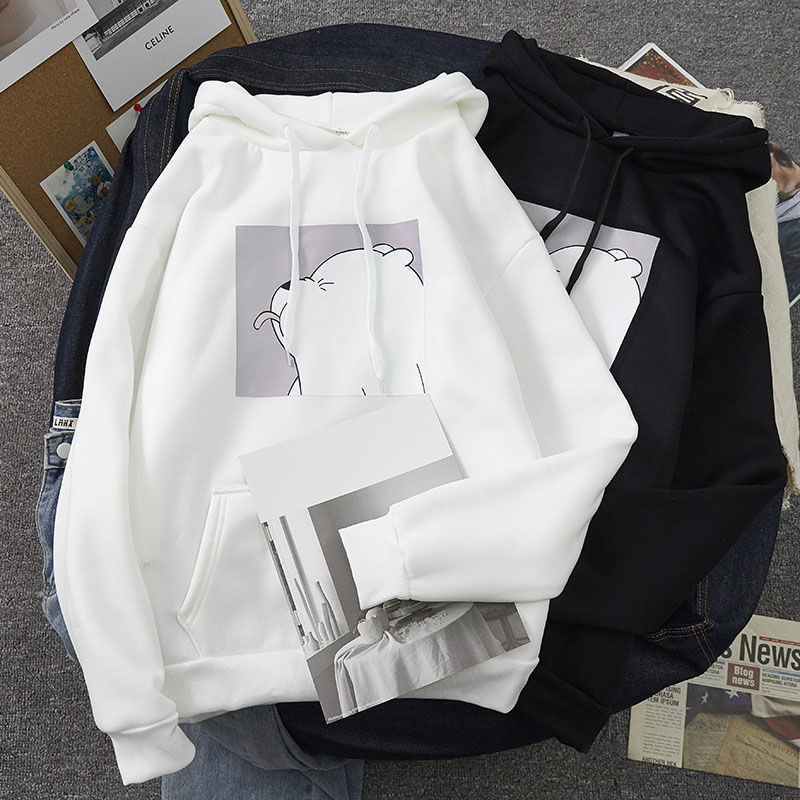 Winter Autumn Plus Size Sweatshirts Tops Kangaroo Pocket Hot Sale Spring Casual Vintage Pullovers Hoodies Ulzzang Women Loose