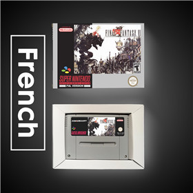 Image 2 - Final Game Fantasy VI 6   EUR Version RPG Game Card Battery Save With Retail Box