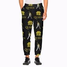 Мужские спортивные брюки с карманами queen рок группы freddie
