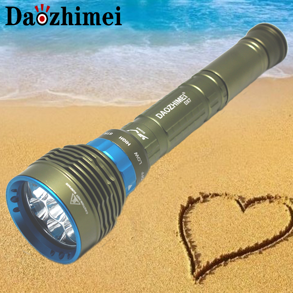 700LM Underwater 100m T6 Scuba Diving Flashlight Hiking Camping Torch W//Lanyard