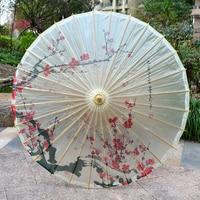 Old fashioned Oil paper Umbrella Classical Tung Umbrella Decorative Umbrella With Props For Chinese Hanfu Craft Performance