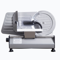 150W Semi-automatic Multi-function Slicer Home Electric Small Meat Slicer Commercial Mutton Roll Slicer