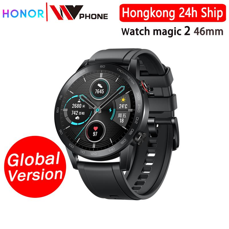 Honor magic Watch 2 magic 2 Smart watch blood oxygen tracker spo2 Phone Call Heart Rate Tracker For Android iOS on AliExpress