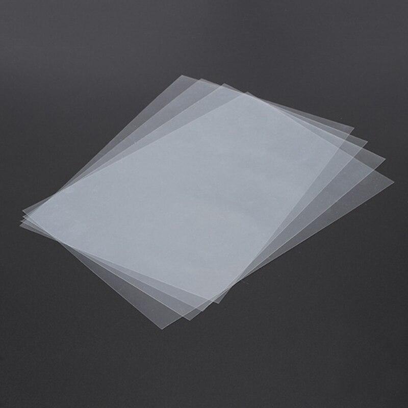 8PCS 140x200mm SLA/LCD FEP סרט 0.15-0.2mm עובי עבור פוטון שרף DLP 3D מדפסת