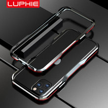 Luphie Metal Bumper for iPhone 11 Pro Max Case SE 2020 Aluminium Frame Protective Cover for iPhone X Xs MAX Xr 7 8 Plus Bumper kinston protective bumper frame case for iphone 6 4 7 black