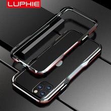 Luphie Metall Bumper für iPhone 12 Pro Max 11 Fall SE Aluminium Rahmen Schutzhülle für iPhone X Xs MAX xr 7 8 Plus Stoßstange