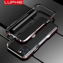Luphie parachoques de Metal para iPhone, funda protectora de marco de aluminio para iPhone 12 Pro Max 11 SE X Xs MAX Xr 7 8 Plus