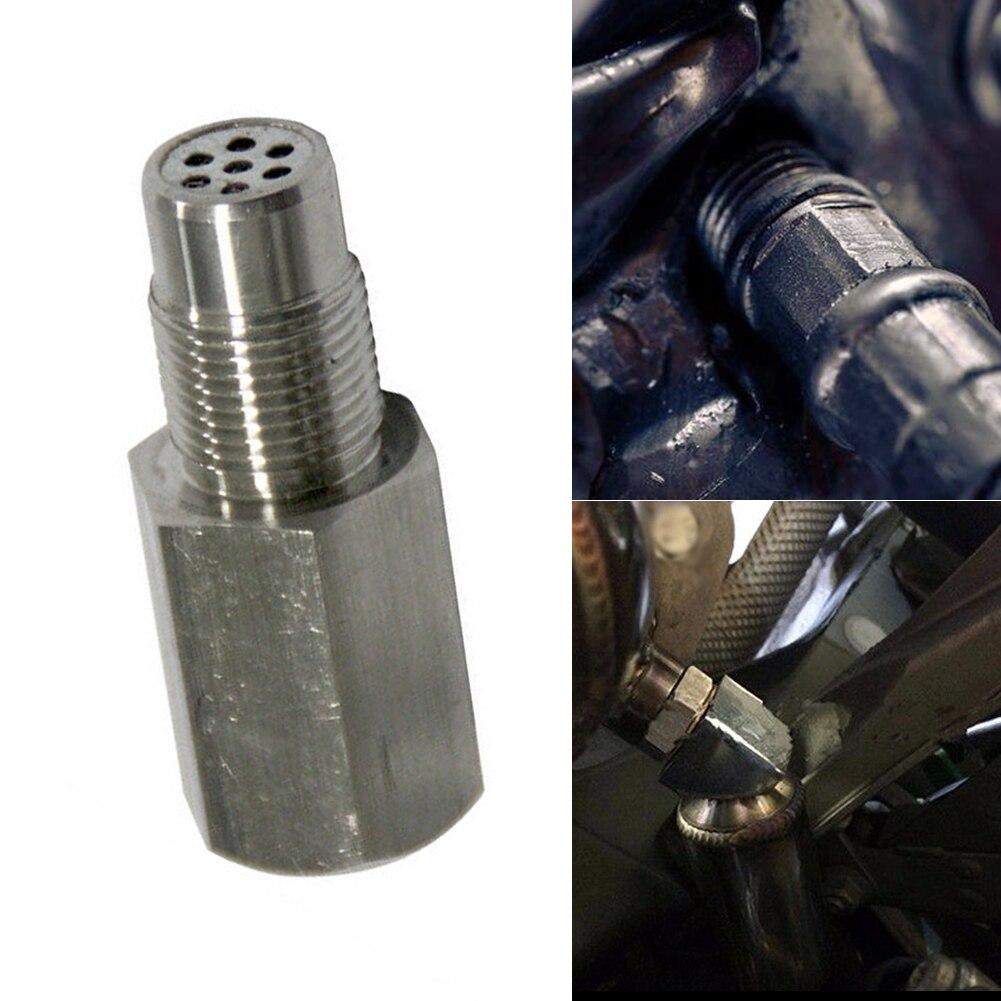 New Car Oxygen O2 Sensor Adapter CEL Fix Check Engine Light Eliminator M18*1.5 Extender Adapter Fitting Eliminator Test Pipe 4000751299873