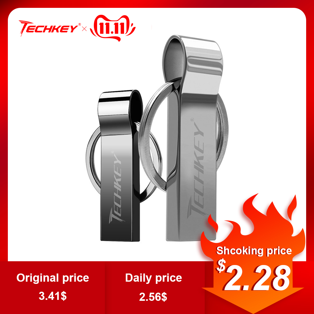 New Brand Waterproof Super USB Flash Drive 64GB 32GB 16GB 8GB Pen Drive Flash Metal Storage Flash Drive Memory Stick Cel Usb