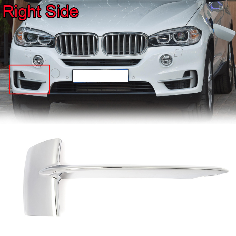 Pair Front Left Right Bumper Lateral Grill Trim Molding For BMW X5 E70 2007-2010