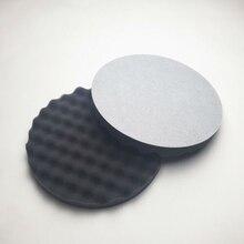 3M 05725 Mút Đánh Bóng Đường Kính. 8 năm (2 Miếng Lót trong) Xốp đĩa Đen sóng đánh bóng Xốp Bánh Tẩy Lông bảo vệ sơn Xe
