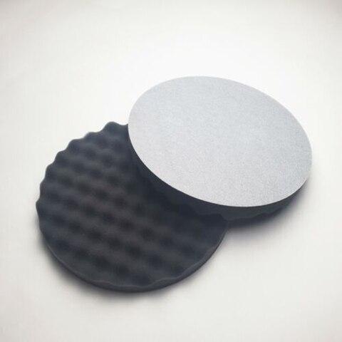 3m 05725 almofada de espuma de polimento diametro 8 em 2 almofadas em esponja disco