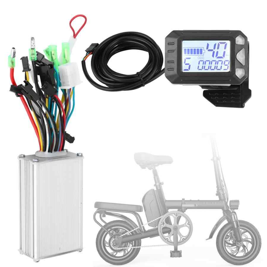 EBike Electric Bicycle Scooter Brushless Controller LCD Display Panel Kit 36//48V