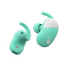 Arikasen tws Touch Wireless Earbuds IPX5 Waterproof Sport Bass Bluetooth Headphones Noise Cancelling Earphone with Ear Hook mic baseus s09 bluetooth headphones bass stereo wireless earphone ear buds waterproof sport headset cvc noise cancelling mic earbuds