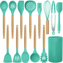 14 шт силиконовая кухонная утварь набор кухонной посуды термостойкие