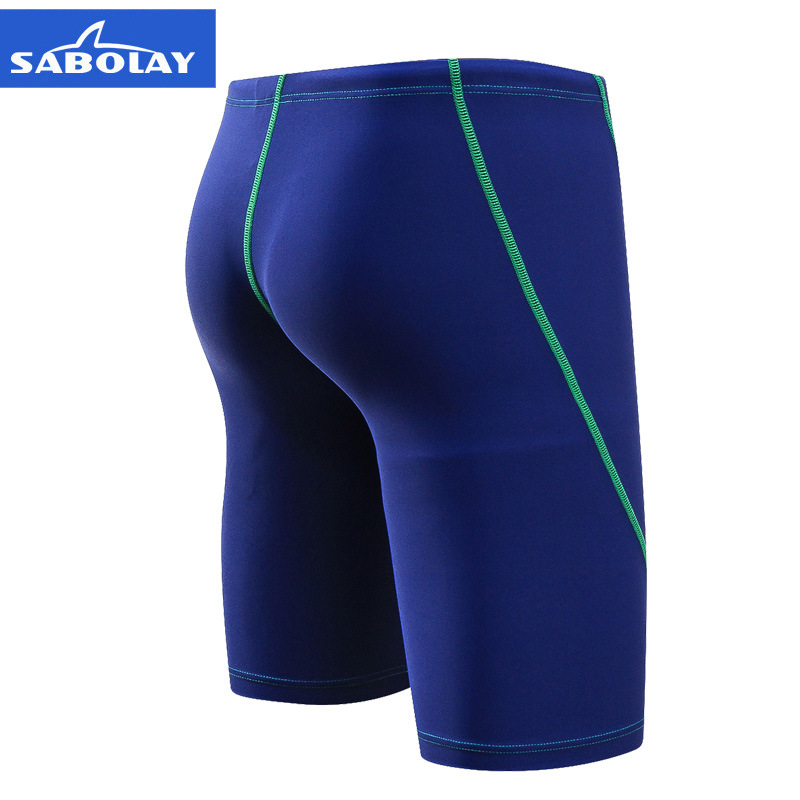 SABOLAY Fashion MEN'S Swimming Trunks Quick-Dry Boxer Swimming Trunks Surfing Shorts Qian Shui Ku Nk630